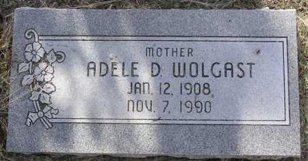 WOLGAST, ADELE D. - Yavapai County, Arizona | ADELE D. WOLGAST - Arizona Gravestone Photos