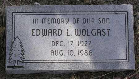 WOLGAST, EDWARD LEE - Yavapai County, Arizona | EDWARD LEE WOLGAST - Arizona Gravestone Photos