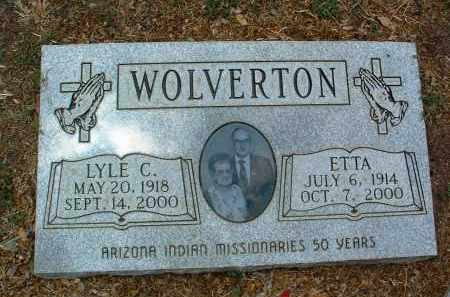 WOLVERTON, LYLE CLINTON - Yavapai County, Arizona   LYLE CLINTON WOLVERTON - Arizona Gravestone Photos