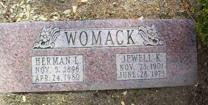 GOODSPEED) WOMACK, J. K. - Yavapai County, Arizona | J. K. GOODSPEED) WOMACK - Arizona Gravestone Photos