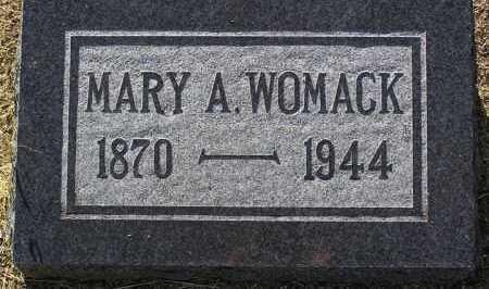 BROWNLOW WOMACK, MARY - Yavapai County, Arizona   MARY BROWNLOW WOMACK - Arizona Gravestone Photos