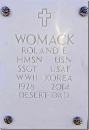 WOMACK, ROLAND EDWARD - Yavapai County, Arizona | ROLAND EDWARD WOMACK - Arizona Gravestone Photos