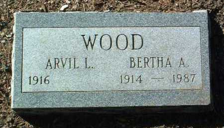 WEBB WOOD, BERTHA A. - Yavapai County, Arizona | BERTHA A. WEBB WOOD - Arizona Gravestone Photos