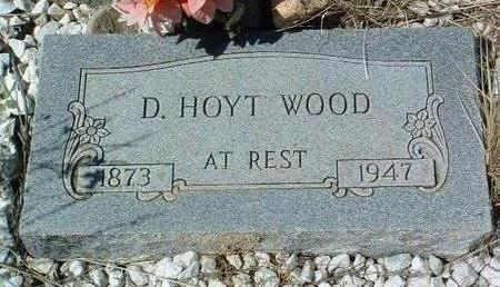 WOOD, DAVID HOYT - Yavapai County, Arizona   DAVID HOYT WOOD - Arizona Gravestone Photos