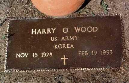 WOOD, HARRY OLIVER - Yavapai County, Arizona | HARRY OLIVER WOOD - Arizona Gravestone Photos