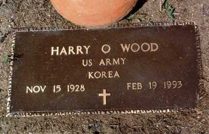 WOOD, HARRY OLIVER - Yavapai County, Arizona | HARRY OLIVER WOOD - Arizona Gravestone Photos