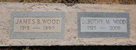 WOOD, JAMES B. - Yavapai County, Arizona   JAMES B. WOOD - Arizona Gravestone Photos