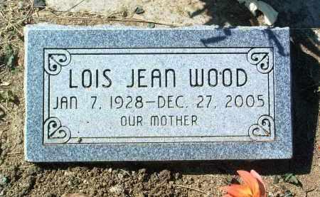 WOOD, LOIS JEAN - Yavapai County, Arizona | LOIS JEAN WOOD - Arizona Gravestone Photos