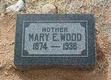 GIBBS WOOD, MARY ELLEN - Yavapai County, Arizona | MARY ELLEN GIBBS WOOD - Arizona Gravestone Photos