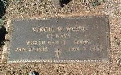 WOOD, VIRGIL W. - Yavapai County, Arizona | VIRGIL W. WOOD - Arizona Gravestone Photos