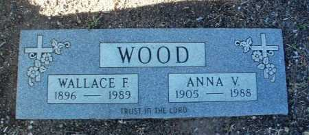 VANNEST WOOD, ANNA V. - Yavapai County, Arizona | ANNA V. VANNEST WOOD - Arizona Gravestone Photos