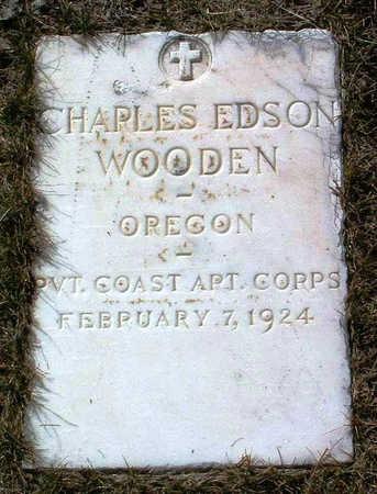WOODEN, CHARLES EDSON - Yavapai County, Arizona | CHARLES EDSON WOODEN - Arizona Gravestone Photos