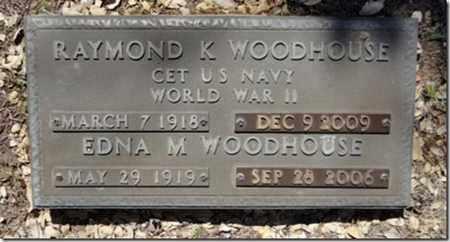 WOODHOUSE, EDNA M. - Yavapai County, Arizona   EDNA M. WOODHOUSE - Arizona Gravestone Photos