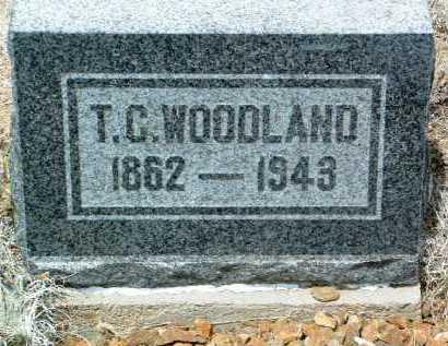 WOODLAND, THOMAS C. - Yavapai County, Arizona | THOMAS C. WOODLAND - Arizona Gravestone Photos