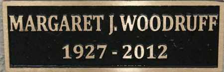 WOODRUFF, MARGARET J. - Yavapai County, Arizona   MARGARET J. WOODRUFF - Arizona Gravestone Photos