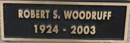WOODRUFF, ROBERT S. - Yavapai County, Arizona | ROBERT S. WOODRUFF - Arizona Gravestone Photos