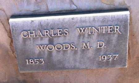 WOODS, CHARLES WINTER - Yavapai County, Arizona | CHARLES WINTER WOODS - Arizona Gravestone Photos