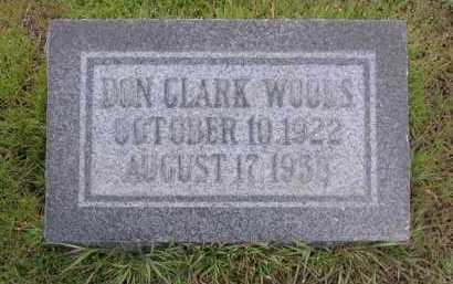 WOODS, DON CLARK - Yavapai County, Arizona | DON CLARK WOODS - Arizona Gravestone Photos
