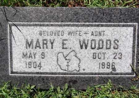 WOODS, MARY EDITH - Yavapai County, Arizona | MARY EDITH WOODS - Arizona Gravestone Photos