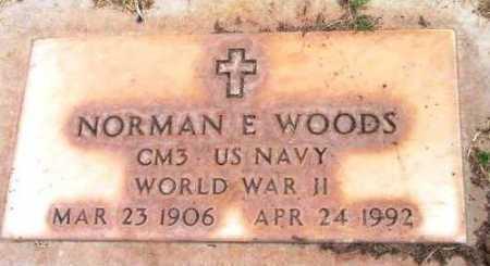 WOODS, NORMAN ERNEST - Yavapai County, Arizona | NORMAN ERNEST WOODS - Arizona Gravestone Photos