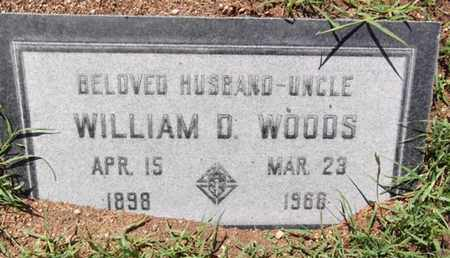WOODS, WILLIAM DEWEY - Yavapai County, Arizona | WILLIAM DEWEY WOODS - Arizona Gravestone Photos
