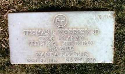 WOODSON, WANDA - Yavapai County, Arizona | WANDA WOODSON - Arizona Gravestone Photos