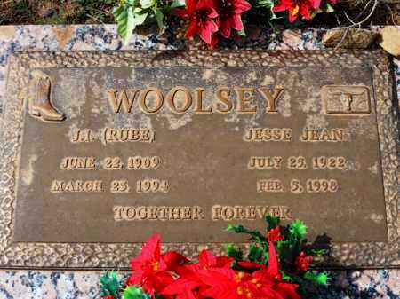 LINCOLN WOOLSEY, JESSIE JEAN - Yavapai County, Arizona | JESSIE JEAN LINCOLN WOOLSEY - Arizona Gravestone Photos