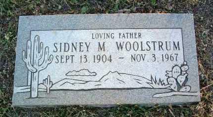 WOOLSTRUM, SIDNEY MANFORD - Yavapai County, Arizona | SIDNEY MANFORD WOOLSTRUM - Arizona Gravestone Photos