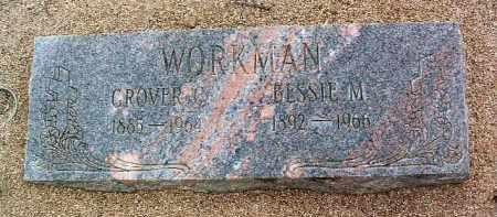 WORKMAN, GROVER CLEVELAND - Yavapai County, Arizona   GROVER CLEVELAND WORKMAN - Arizona Gravestone Photos