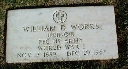 WORKS, WILLIAM D. - Yavapai County, Arizona | WILLIAM D. WORKS - Arizona Gravestone Photos