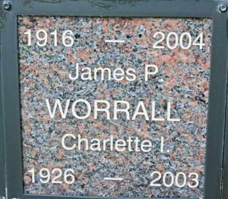 WORRALL, JAMES PERCY - Yavapai County, Arizona | JAMES PERCY WORRALL - Arizona Gravestone Photos
