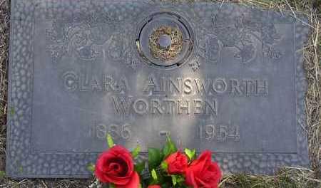 AINSWORTH WORTHEN, C. - Yavapai County, Arizona | C. AINSWORTH WORTHEN - Arizona Gravestone Photos