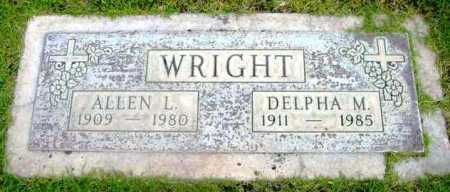 WRIGHT, DELPHA M. - Yavapai County, Arizona | DELPHA M. WRIGHT - Arizona Gravestone Photos