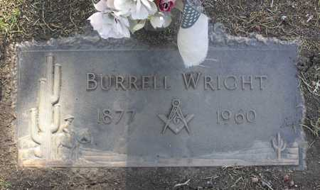 WRIGHT, BURRELL - Yavapai County, Arizona | BURRELL WRIGHT - Arizona Gravestone Photos