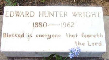 WRIGHT, EDWARD HUNTER, SR. - Yavapai County, Arizona   EDWARD HUNTER, SR. WRIGHT - Arizona Gravestone Photos