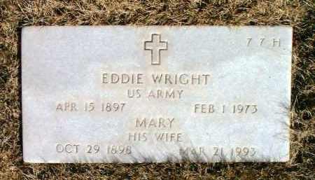 WRIGHT, MARY - Yavapai County, Arizona | MARY WRIGHT - Arizona Gravestone Photos