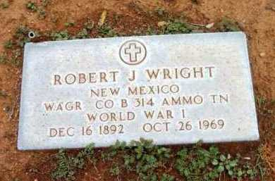 WRIGHT, ROBERT J. - Yavapai County, Arizona | ROBERT J. WRIGHT - Arizona Gravestone Photos