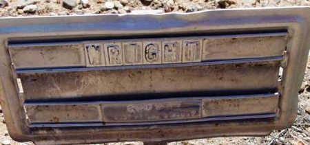WRIGHT, UNKNOWN - Yavapai County, Arizona | UNKNOWN WRIGHT - Arizona Gravestone Photos