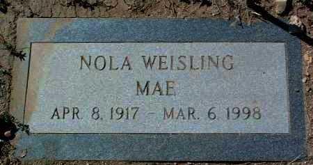 GUEST WEISLING, NOLA - Yavapai County, Arizona | NOLA GUEST WEISLING - Arizona Gravestone Photos