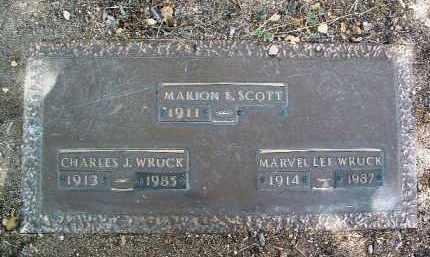 WRUCK, MARVEL LEE - Yavapai County, Arizona | MARVEL LEE WRUCK - Arizona Gravestone Photos