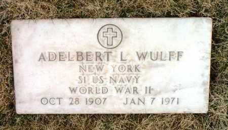 WULFF, ALDELBERT L. - Yavapai County, Arizona | ALDELBERT L. WULFF - Arizona Gravestone Photos
