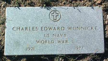 WUNNICKE, CHARLES E. - Yavapai County, Arizona   CHARLES E. WUNNICKE - Arizona Gravestone Photos