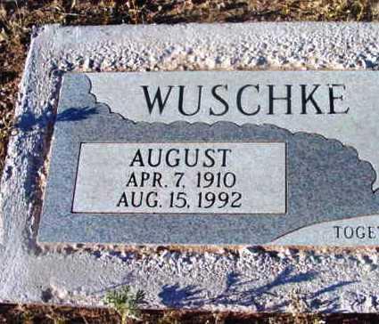 WUSCHKE, AUGUST - Yavapai County, Arizona   AUGUST WUSCHKE - Arizona Gravestone Photos