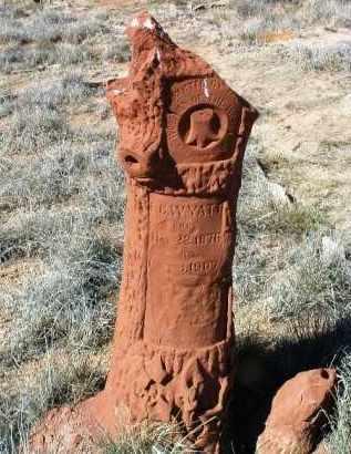 WYATT, ED C. - Yavapai County, Arizona | ED C. WYATT - Arizona Gravestone Photos