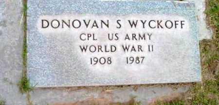 WYCKOFF, DONOVAN S. - Yavapai County, Arizona | DONOVAN S. WYCKOFF - Arizona Gravestone Photos