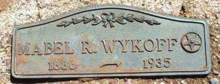 WYKOFF, MABEL ELIZABETH - Yavapai County, Arizona | MABEL ELIZABETH WYKOFF - Arizona Gravestone Photos