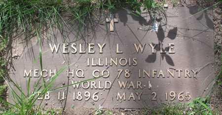 WYLE, WESLEY L. - Yavapai County, Arizona | WESLEY L. WYLE - Arizona Gravestone Photos