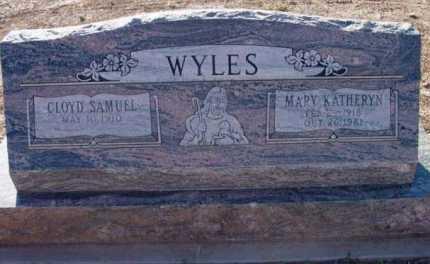 WYLES, CLOYD SAMUEL - Yavapai County, Arizona | CLOYD SAMUEL WYLES - Arizona Gravestone Photos
