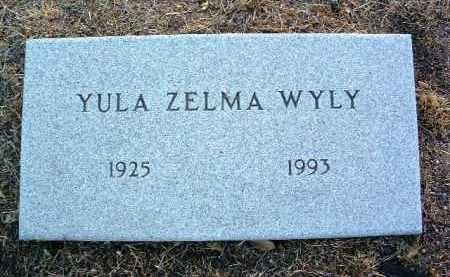 CRAWFORD WYLY, YULA Z. - Yavapai County, Arizona | YULA Z. CRAWFORD WYLY - Arizona Gravestone Photos