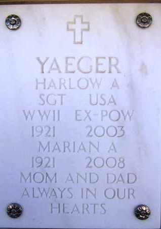 YAEGER, MARIAN BEATRICE - Yavapai County, Arizona | MARIAN BEATRICE YAEGER - Arizona Gravestone Photos